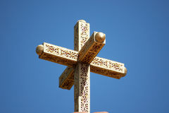 Ornate cross Royalty Free Stock Photo