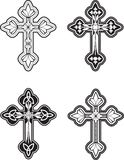 Ornate Cross Stock Image