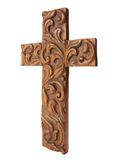 Ornate cross Royalty Free Stock Photos