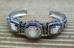 Ornate Cuff Bracelet Royalty Free Stock Photos
