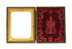 Ornate daguerreotype picture case Royalty Free Stock Photos