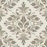 Ornate damask background. Seamless floral pattern for design, vector Illustration vector illustration