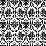 Ornate damask tile Royalty Free Stock Photo