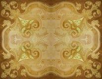 Ornate Decorated Seamless Background Stock Image