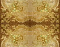 Ornate Decorated Seamless Background Royalty Free Stock Photo