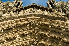 Ornate Decorations, Reims Royalty Free Stock Images