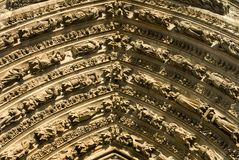 Ornate Decorations, Reims Stock Image