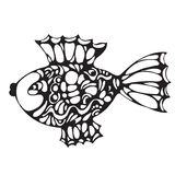 Ornate decorative fish Stock Images