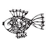 Ornate decorative fish Stock Images