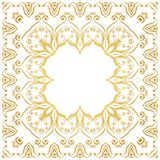 Ornate decorative frame in Victorian style Royalty Free Stock Image