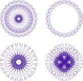 Ornate design. Intricate and ornate design illustrations Stock Image