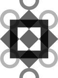 Ornate design. Ornate scrolled circle design royalty free illustration
