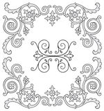 Ornate design elements Royalty Free Stock Image