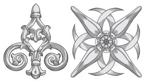 Free Ornate Design Elements Royalty Free Stock Photography - 11346637