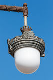 Ornate detail of a lamp-post Stock Photos