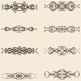 Ornate divide lines Royalty Free Stock Photo