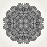 Ornate doodle mandala Royalty Free Stock Photography