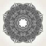 Ornate doodle mandala Royalty Free Stock Photos