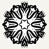 Ornate doodle mandala Royalty Free Stock Photo