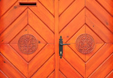 Ornate door Royalty Free Stock Images