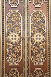 Ornate Door, Bali Stock Photos