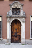 Ornate Door in Gdansk Royalty Free Stock Images