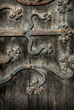 Ornate Door Hinge Stock Image