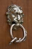 Ornate door knocker Stock Images