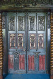 Ornate door in Victor Hugo's house on Guernsey Stock Image