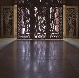 The ornate doors. Royalty Free Stock Photos