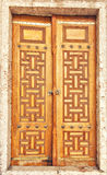 Ornate doors Stock Photo