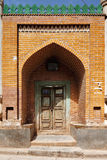 Ornate doors are very common in the ancient city of Kashgar, China Royalty Free Stock Image