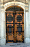Ornate doorway Stock Images