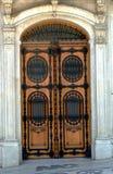 Ornate doorway stock images