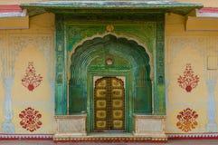Ornate doorway Royalty Free Stock Image