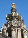 Ornate Dresden dome Stock Image