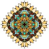 Ornate eastern mandala Stock Photo