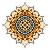 Ornate eastern mandala Stock Photography