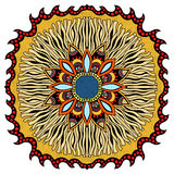 Ornate eastern mandala Royalty Free Stock Image