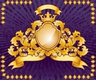 Ornate Emblem Royalty Free Stock Photography