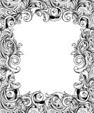 Ornate Engraved Baroque Frame Stock Photography