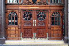 Ornate Entrance 02. Ornate Marble entrance to concert hall Royalty Free Stock Photography