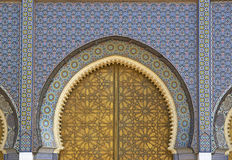 Moroccan Palace Stock Image