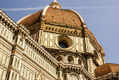 Ornate facade of the Duomo of Florence, Royalty Free Stock Photography
