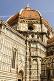 Ornate facade of the Duomo of Florence, Stock Photo