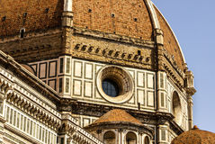 Ornate facade of the Duomo of Florence, Stock Photos