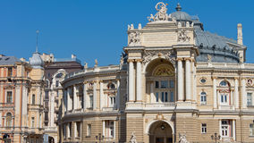 Ornate facade of historical building Stock Photography