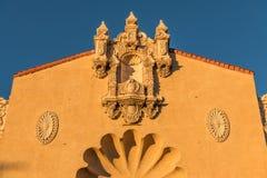 Free Ornate Facade Of An Historic Spanish Renaissance Style Building In Santa Fe, New Mexico Royalty Free Stock Photos - 139769348