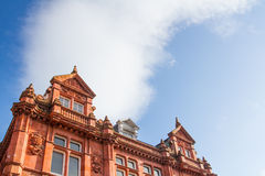 Ornate Facade On An Old Building Royalty Free Stock Image