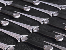 Ornate Fantasy Daggers Stock Photography